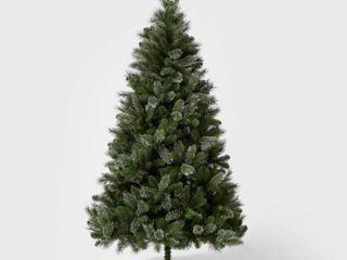 7 5ft Unlit Full Artificial Christmas Tree Virginia Pine  Unlit