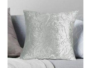 Porch   Den Suzanne Crushed Velvet Throw Pillow