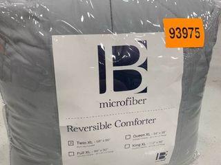 BYourBed Reversible Microfiber Comforter twin Xl
