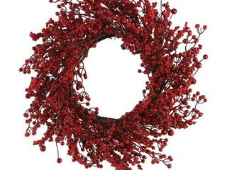 Celebrations Home Red Berry Wreath
