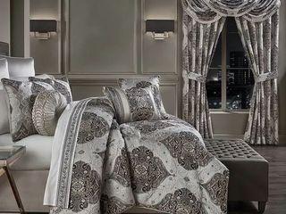 Five Queens Court Devon luxury King Size Comforter Set