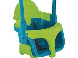 Quadpod Swingseat  1 piece of plastic is bent