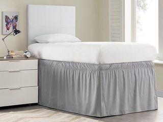 Ruffled Dorm 32 inch Drop Bed Skirt