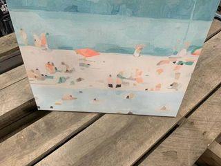 14x14 Beach Canvas