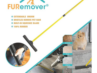 Fur Remover 35in Expendable Handle