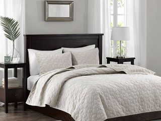 Quilt Set California King Ivory