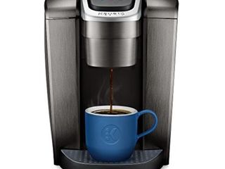 Keurig K Elite Single Serve K Cup Pod Coffee Maker  with Strong Temperature Control  Iced Coffee Capability  12oz Brew Size  Programmable  Brushed Slate