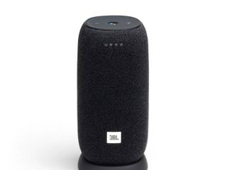 JBl   link Smart Portable Wi Fi and Bluetooth Speaker with Google Assistant   Black