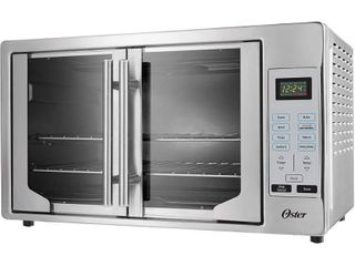Oster French Door Digital Toaster Oven   Silver
