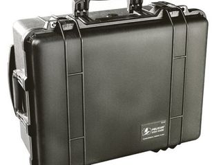 Pelican 1560 000 110 Protective Case With Foam Black