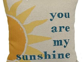 Brentwood Originals 8022 You are my Sunshine Decorative Pillow  18 in