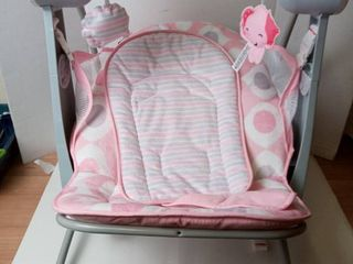 Fisher Price Automatic Baby Swing Pink Grey White