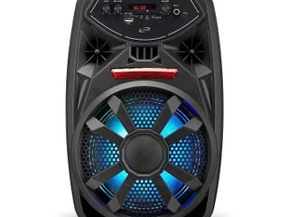 ilive   ISB380B Portable Bluetooth Party Speaker   Black  Powers On