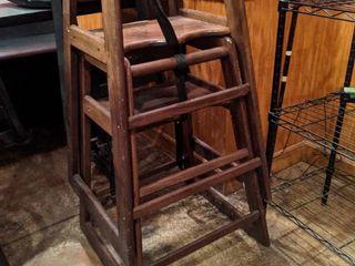 2  Wooden Highchairs