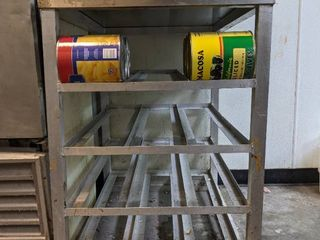 Commercial Can Rack