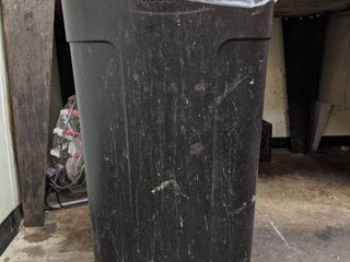 2  Rolling Trash Cans