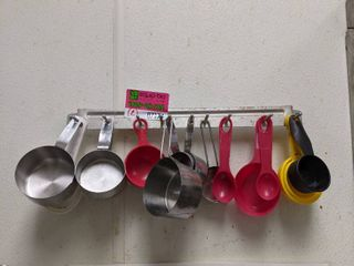 2  Utensil Holders With Contents