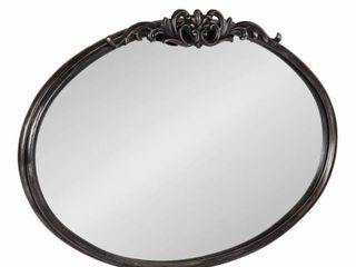 Kate and laurel Arendahl Traditional Arch Mirror  Black   27x18 75