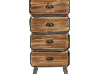 4D Concepts Urban loft Rounded Drawer Chest