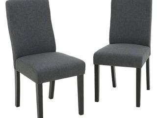 DARK GREY  Corbin Dining Chair by Christopher Knight Home