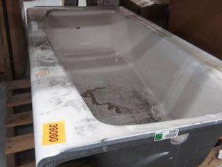 Cast Iron Bathtub 60  x 30  14  D