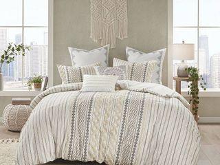 Ink Ivy Imani 3 Pc  Full Queen Cotton Comforter Mini Set Bedding
