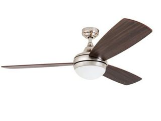 Prominence Home 52  Calico Brushed Nickel  Integrated lED Remote