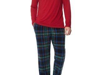 Navy   XlNavy   Xl  MarCielo Men s Fleece Pajamas Set Sleepwear