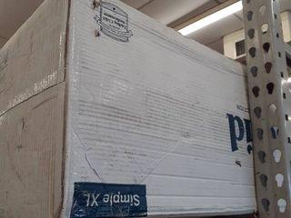 Twin Xl Comfort Collection 10  Gel Memory Foam Mattress   lucid