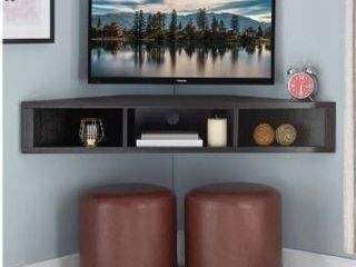 Copper Grove Sukhumi Floating Corner Wall mounted Media Console  Retail 139 99