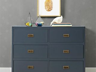 Baby Relax Miles Campaign Dresser   Blue
