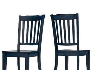Grey wood Dinning Chairs set HM1009 18GY