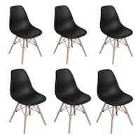 Carson Carrington Dusekarr Dining Room Side Chair  Set of 6    Retail 194 49  APPEARS USED  NOT FUllY INSPECTED OUTSIDE BOX