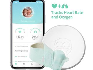 Owlet Smart Sock 2 Baby Monitor  monitors heart rate   oxygen levels   RETAIl  299 00