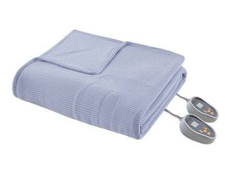 Beautyrest Ribbed Microfleece King size Heated Blanket  Retail 119 98