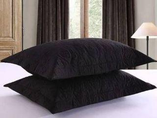 Porch   Den Manor Embroidered Pillow Sham  Set of 2