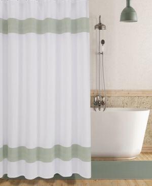 Enchante Home Unique Turkish Cotton Shower Curtain