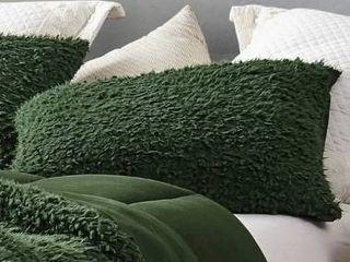 2 King Shams  Kombu Green  Grown Man Stuff   Coma Inducer Pillow Sham   Kombu Green