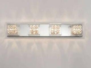 Artika 31  Crystal Cubes 4 light Wall Modern light Fixture
