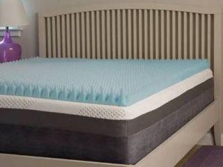 Slumber Perfect Highloft Supreme 3 inch Convoluted Gel Memory Foam Topper   Twin