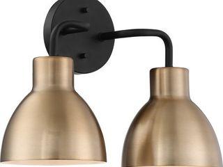 Nuvo lighting 60 6772 Sloan 2 light 14  Wide Bathroom Vanity light
