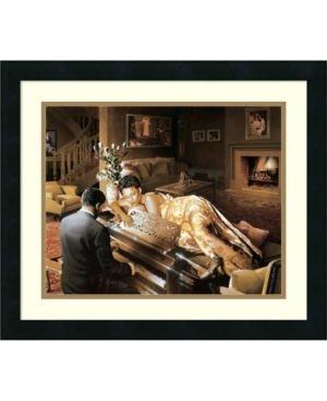Edward Clay Wright  Sonata  Framed Art Print  Retail 111 49