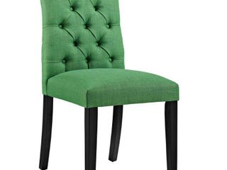 Modway Green Fabric Dining Chair