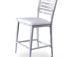 Set of 2 William s Home Furnishing Arwen in White Side Chair