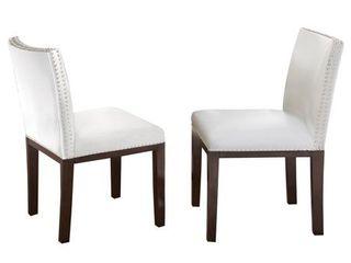 Strick   Bolton Hugo Hardwood Dining Chair  Set of 2  Retail  348 49