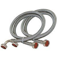 Eastman 48377 Washing Machine Hose with 90 Degree Elbow  1 Pair extra pair