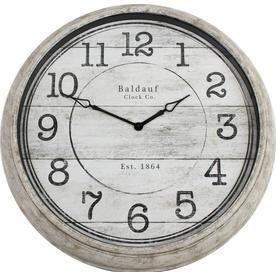 Analog Round Indoor Wall Clock