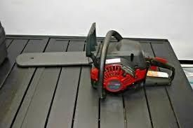 craftsman chainsaw used