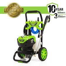 green works pressure washer 2300 psi