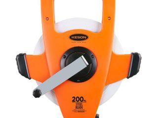 Keson NRS18200 200ft  Nylon Reinforced Steel Blade  Speed Rewind